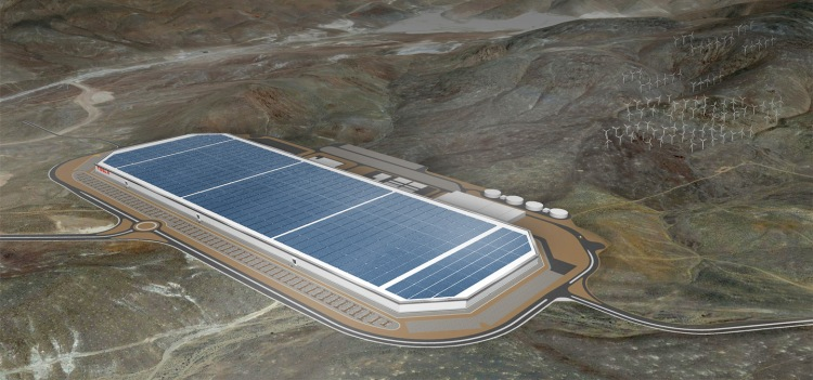 Desain Gigafactory (Sumber Tesla.com)